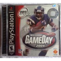 Nfl Gameday 2004 Football Nuevo / Playstation 1 Ps1 Ps2 Ps3