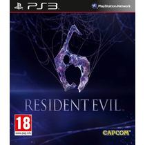 Resident Evil 6 Ps3 Digital !!!!!!!!!!!!!!!!!!!!!!!!