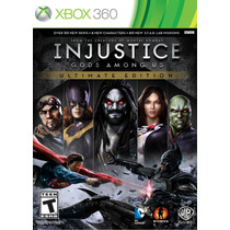 Injustice Gods Among Ultimate Edition Xbox 360 Nuevo Jxr