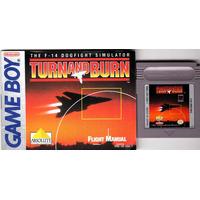 Turn And Burn Caja Plastica+ Manual Gameboy Nintendo Nes