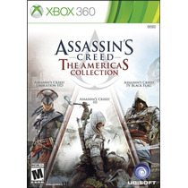 Assassins Creed The Americas Collection Xbox 360 Nuevo Jxr