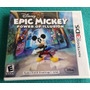 Epic Mickey - Power Of Illusion - Nuevo / Nintendo 3ds