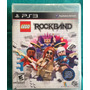 Lego Rockband / Sony Playstation 3 Ps3