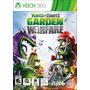 Plantas Vs Zombies Xbox 360 Usado Gran Oferta!
