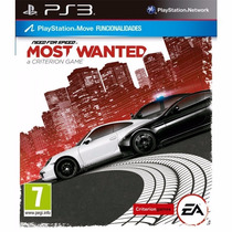 Ps3 Digital Need For Speed Most Wanted - Descarga Digital