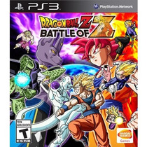 Video Juego Dragon Ball Z Battle Of Z - Playstation 3 Sony