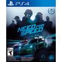 Ps4 Need For Speed - Nuevo Y Sellado - Entrega Inmediata