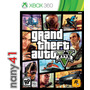 Grand Theft Auto V Juego Consola Xbox 360 Gta V Five