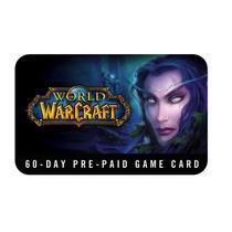 World Of Warcraft Tarjeta Prepago De 60 Dias Eu. Barato!!
