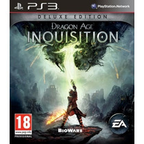 Ps3 Digital Dragon Age Inquisition Ps3