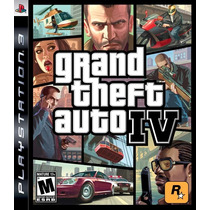 Ps3 Digital Grand Theft Auto Iv - Digital Ps3
