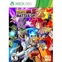 Nuevo Fisico Dragon Ball Battle Of Z Original Xbox 360