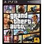 Fisico En Español Sony Ps3 Grand Theft Auto 5 Ps3 Gtav Gta 5