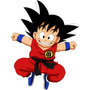 Stikers Vinilo Adhesivo Dragon Ball Z / Goku /