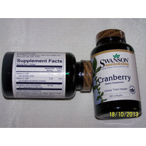 Cranberry,180 Capsulas,800mg