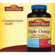 Omega 3 6 9 Nature Made 180 Capsulas Blandas
