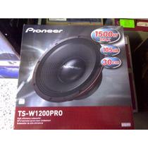 Bajo Pioneer Ts-w1200pro Competencia Spl