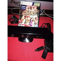 Kinect Sensor Xbox 360 + Juego + Cable - Usado ¡¡¡