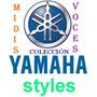Paquete Musical Yamaha Styles-midis-voces-emc Style Works