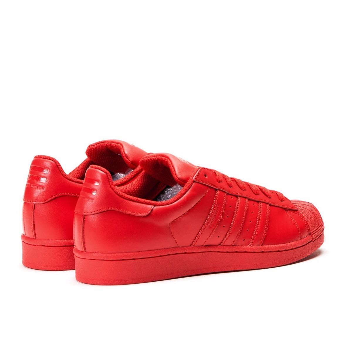 tenis adidas rojos mujer