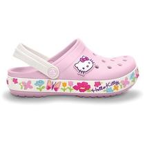 Crocs Hello Hello Kitty 100% Originales
