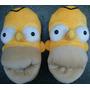 Babuchas Los Simpson Excelente Calidad E Impecable Diseño