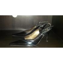 Zapatos De Cuero Estiletos De Charol