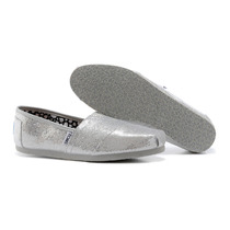 Zapatos Toms Glitter Mujer
