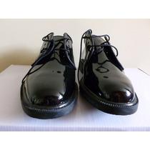 Zapato De Charol Para Hombre, Elegante Militar, Piloto, Gala