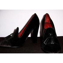 Zapatos Tommy Hilfiger Tacon Alto Talla 35.5 Egratis$125,000
