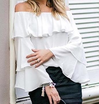 Blusas para mujer Limonni LI523 Campesinas