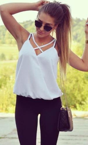 Blusas para mujer Limonni LI843 Basicas