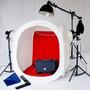 Cubo Softbox Estudio Portatil Fotografia Producto 40x40 Cm