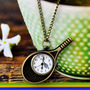 Reloj Vintage Tipo Dije En Forma De Raqueta De Tenis | ANDYFMC10