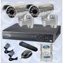 Kit Video Vigilancia Cctv Dvr 4 Canales Hd 1080 +disco Duro | TRUVISION COMPANY