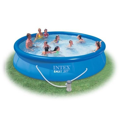 Piscina inflable ref 28161 intex 457cmx91cm for Piscina inflable intex
