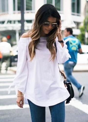 Blusas para mujer Limonni LI478 Campesinas