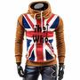 Buso Buzo Saco Abrigo Style Bandera Inglaterra Envio Gratis | ZURDO2006