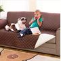 Protector De Sofá 3 Puestos Doble Faz Protege De Mascotas Tv | NACHOKYP