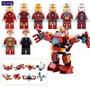 Marvel Iron Man Figuras Para Armar 8 En 1, Sensacional | DAHAUSSTORE