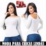 Blusa Cuello Gargantilla Blanca O Negra Talla Única | ANDYFMC10