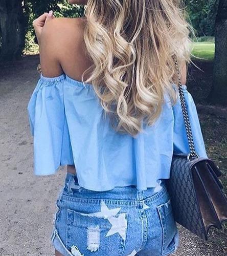 Blusas para mujer Limonni LI770 Campesinas