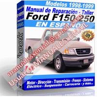 Manual de Reparacion Taller Ford F-150 F-250 1998-1999