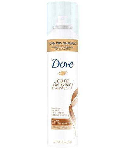 Shampoo En Seco En Espuma Dove