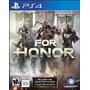Fisico Original Nuevo For Honor  Ps4 Playstation 4 | CLAUDIO.A0
