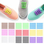 Cordones Elasticos 100% Silicona  All Colors | BRITQUER1