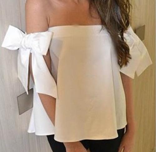 Blusas para mujer Limonni LI583 Campesinas