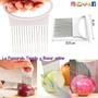 Sujetador Para Rebanar Cebollas, Onion Slicer | HK4QHD