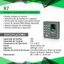Control De Acceso Biométrico Stand Alone Zkteco X7   GAVO2005