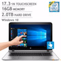 Portatil Hp Envy Core I7 Septima 16gb 2tb 4gb Nvidia Touch | PROFESSIONALWIRELESS
